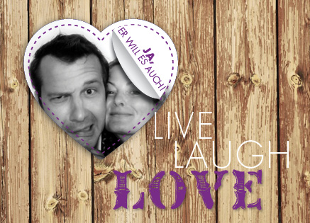 save the date zum hochzeitthema crazy in love