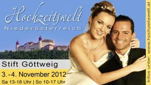 Hochzeitsmesse Stift Göttweig, Titelfoto, Aussteller ist Hochzeitseinladungen.cc