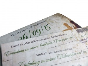 ticket mit hochzeitspruch hochzeit