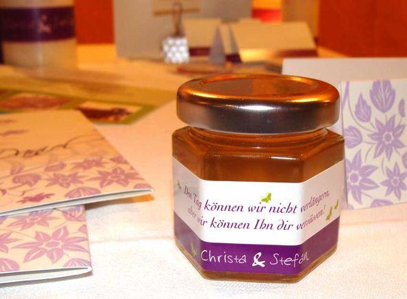 Marmelade Gastgeschenke