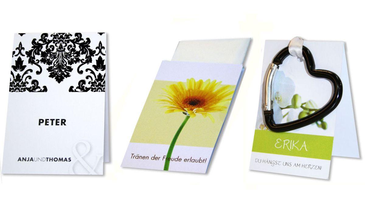 Taschentuchhüllen modern und barock türkis din a6 1