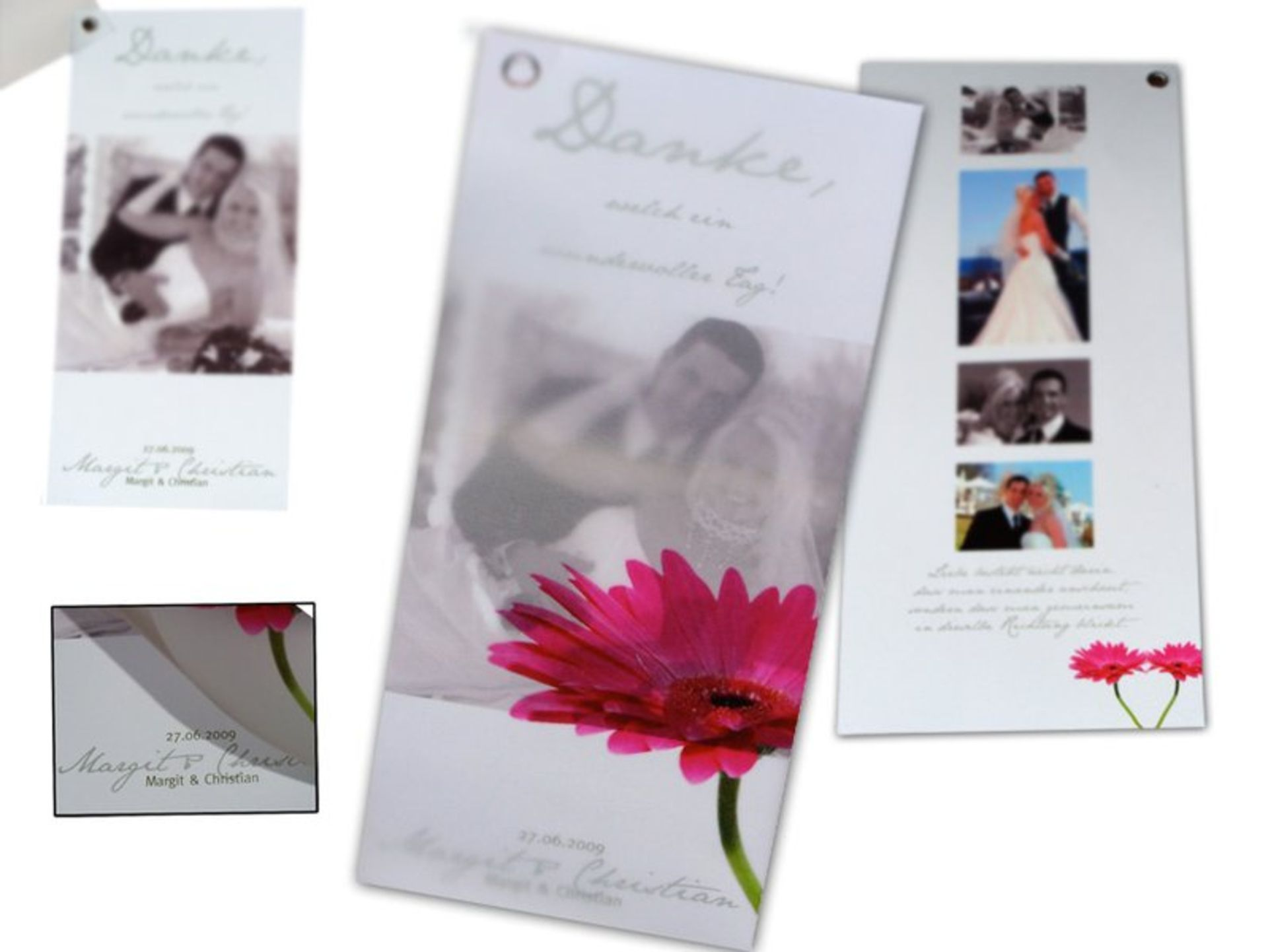foto dankeskarten zur hochzeit gestalten drucken lassen. Black Bedroom Furniture Sets. Home Design Ideas