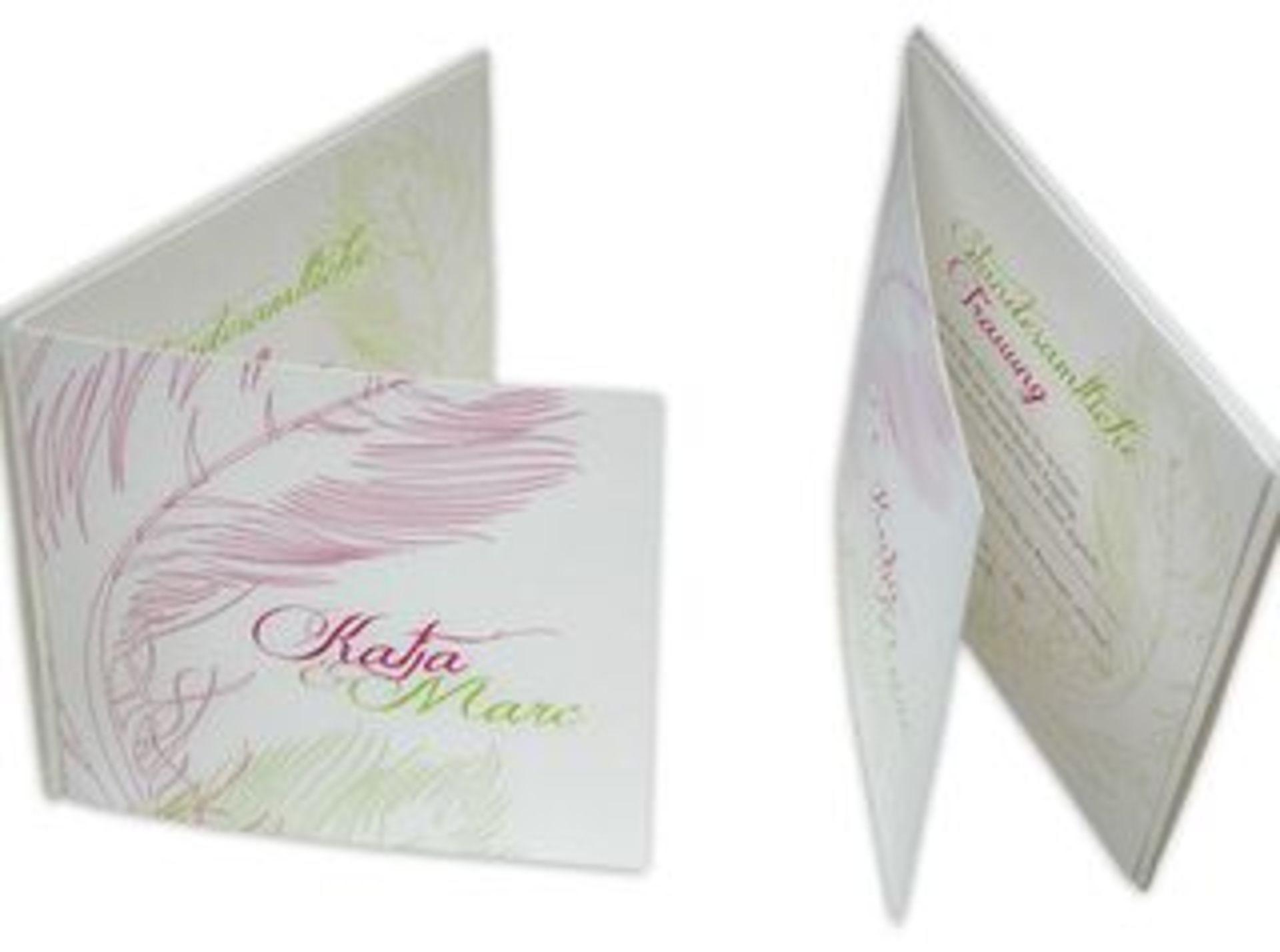 Wunderschöne Einladung Zur Hochzeit Mit Federn In Zarten Farben