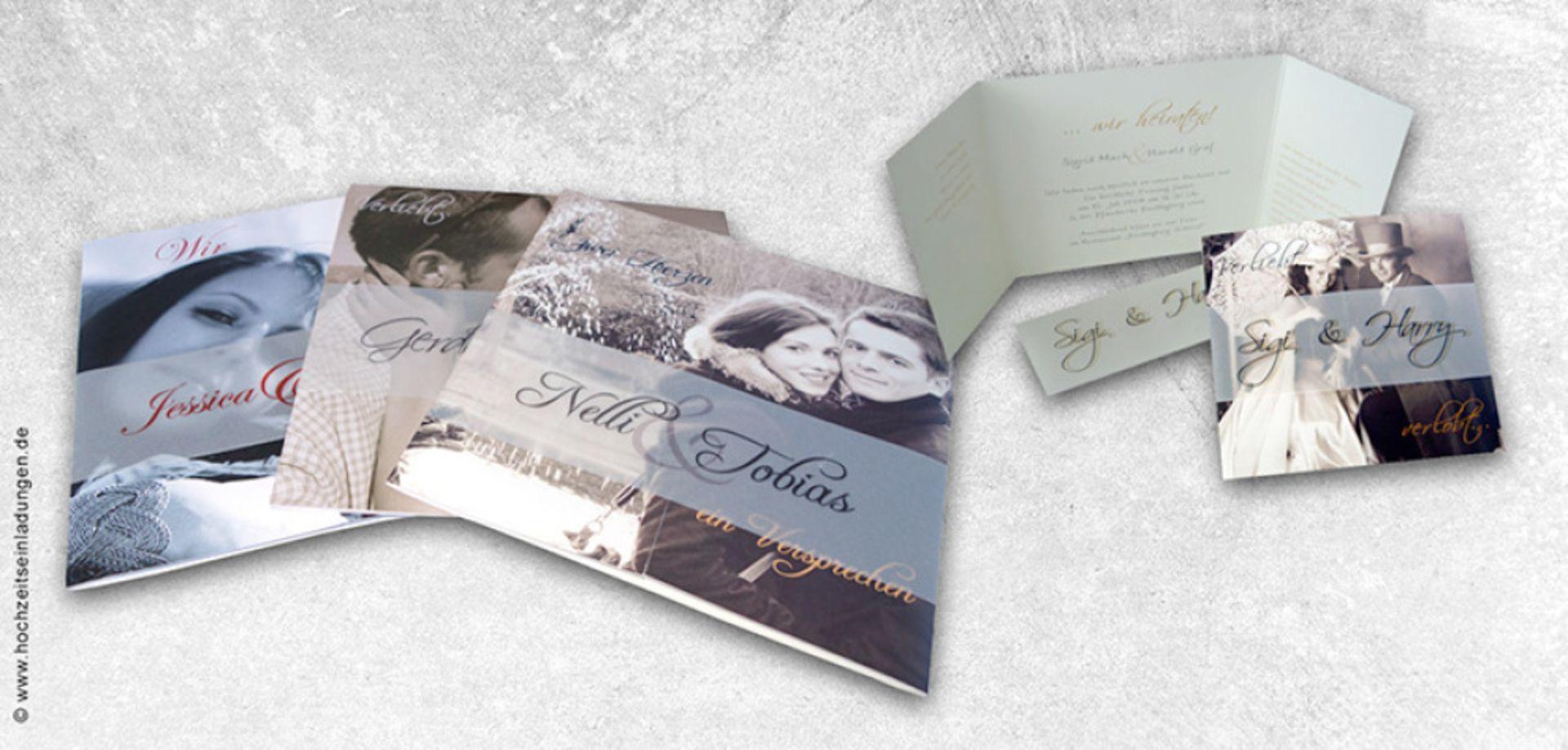 Hochzeitseinladungen Mit Persönlichen Bildern Versprühen Einen Ganz  Besonderen Charme. Deshalb Finden Sie Bei Uns Abwechslungsreiche
