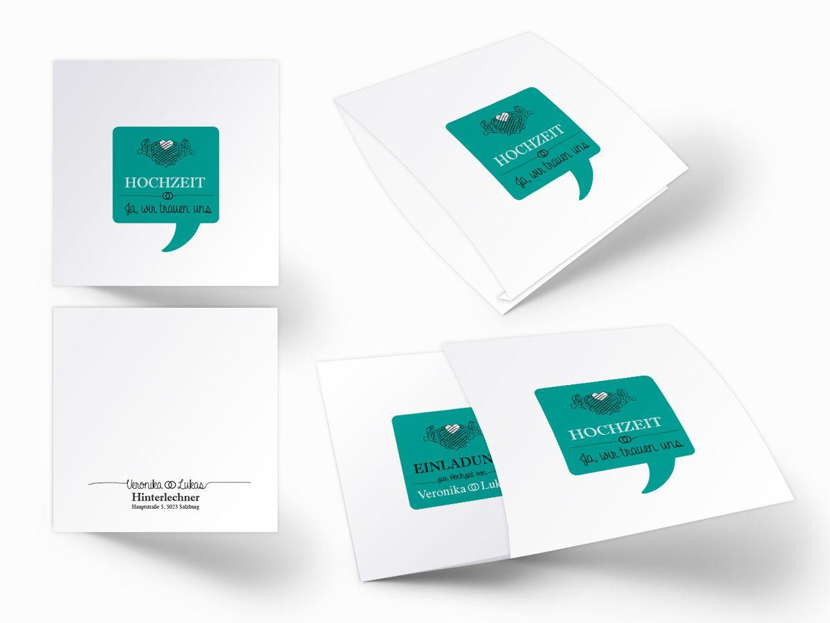 Einsteck kuverts klassik chic din lang einzelkarte 1
