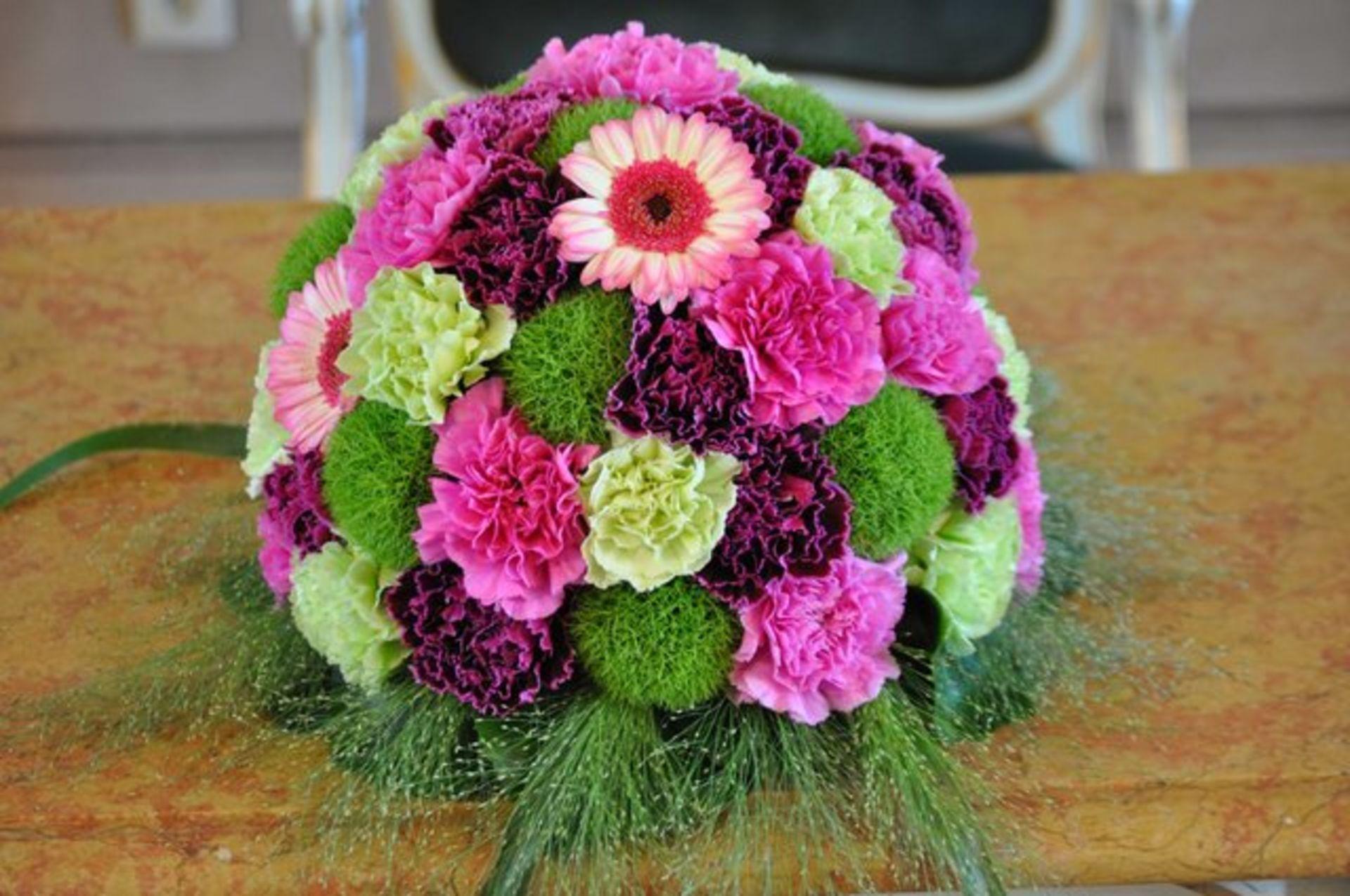Hochzeit In Grun Pink Lila