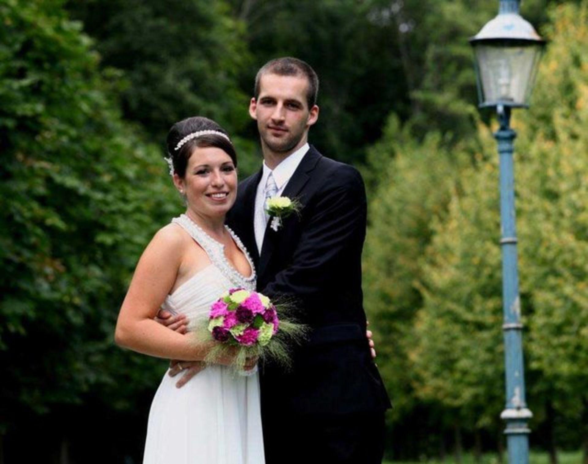 Hochzeit in Grün, Pink & Lila
