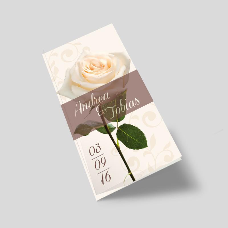 Hochzeitseinladung Bluhe Oh Rose