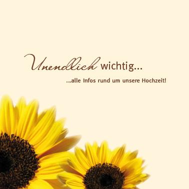 Einlagekarten Sonnenblume In Ihrer Pracht