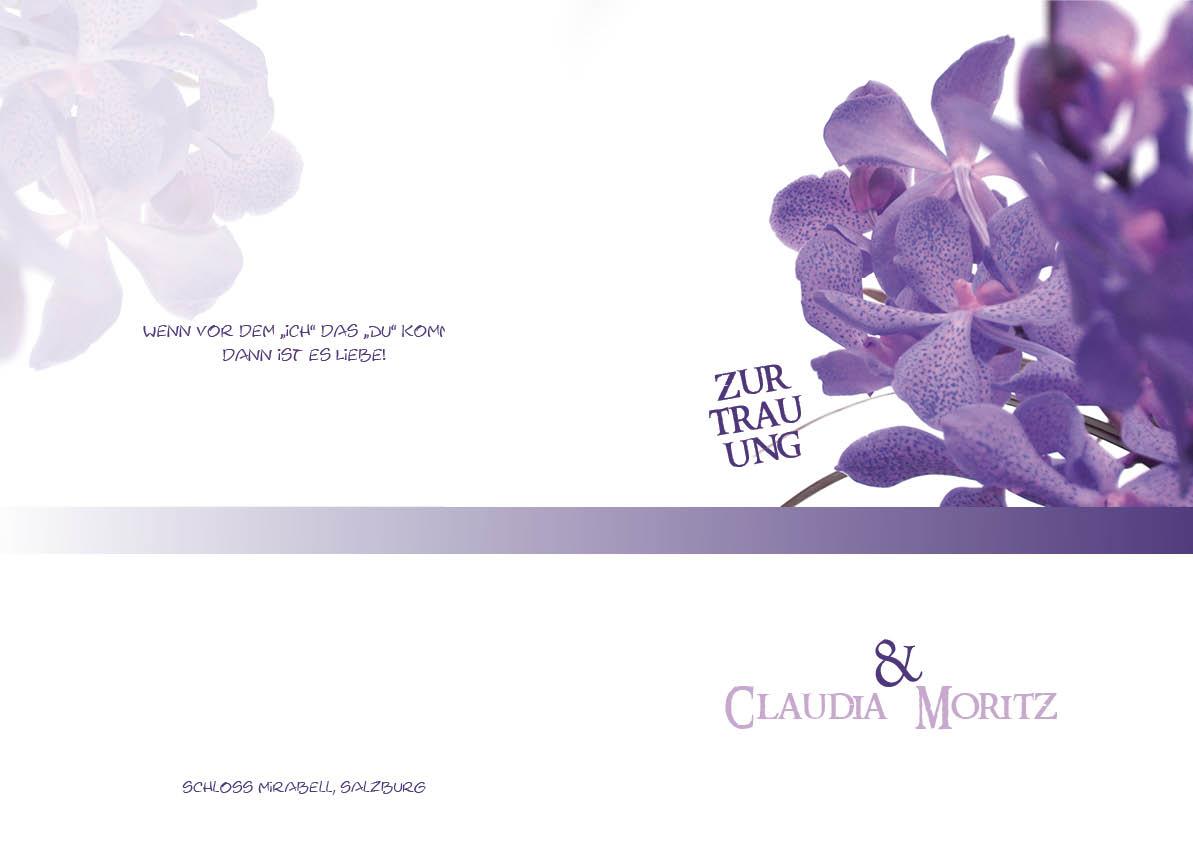 Kirchenhefte violette blümchen
