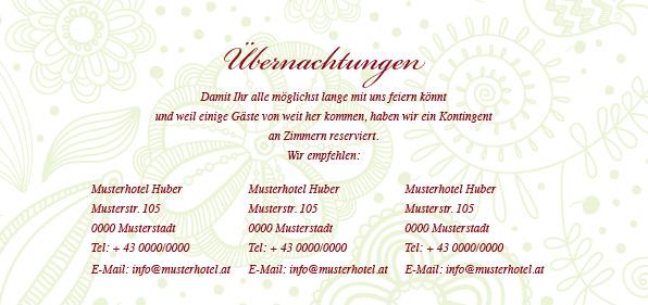 Einladungskarte Hochzeit Eine Gerbera in Pink
