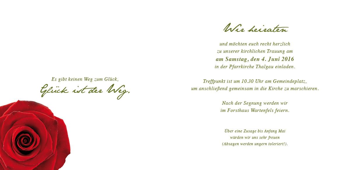 Absage einladung spruch zusage Hochzeitseinladung absagen
