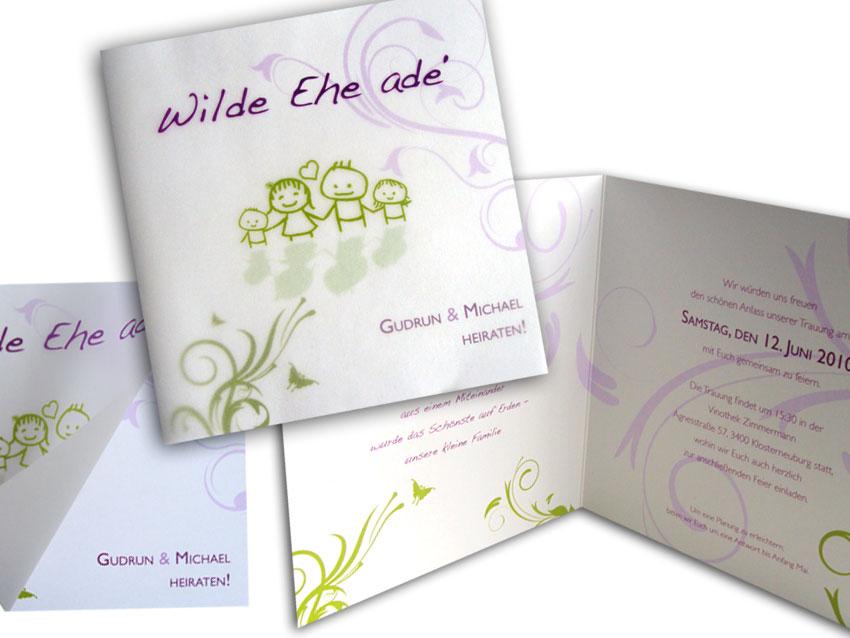 Hochzeitseinladungen Lila Grün Alle guten Ideen über Ehe