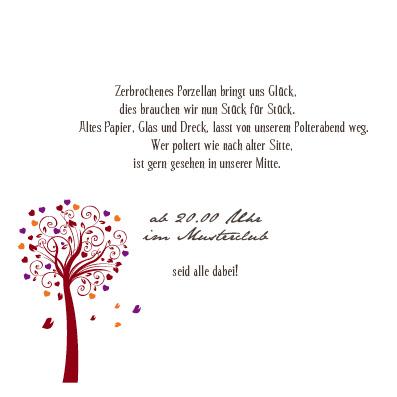 Einlagekarten - Lebensbaum