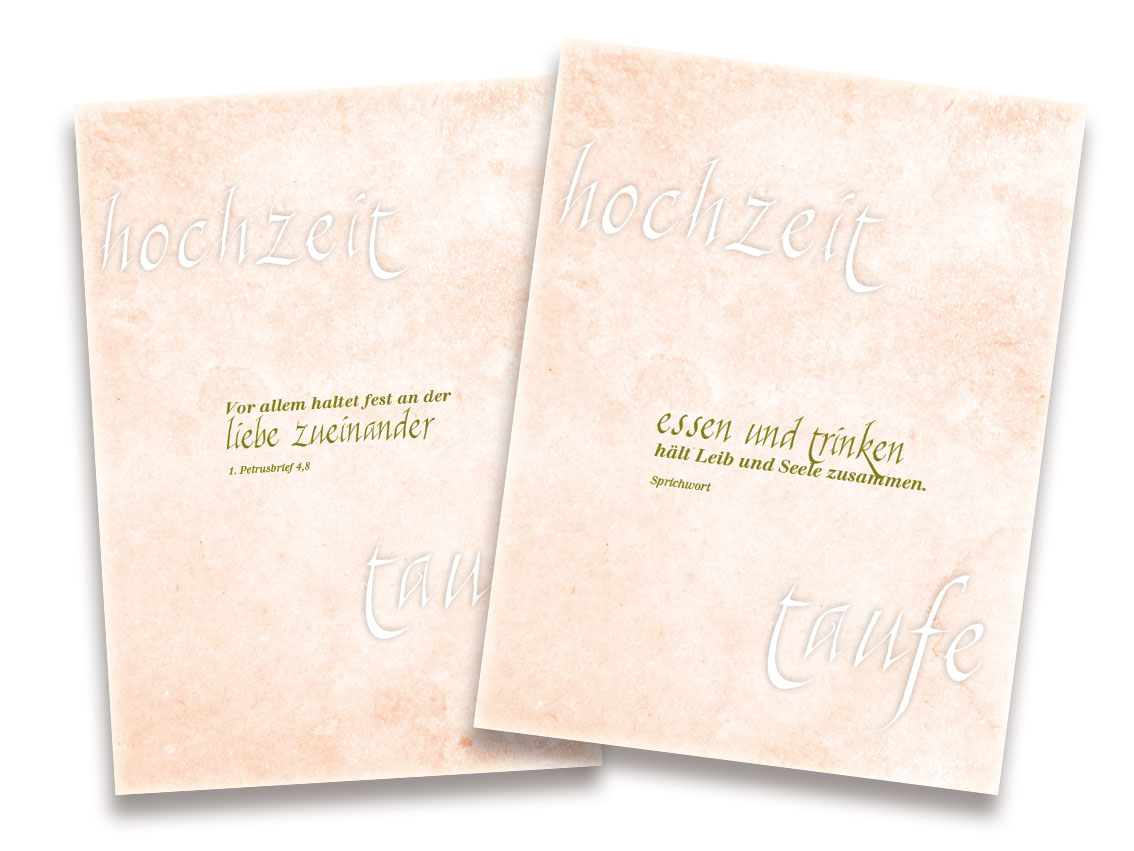 Design im Nostalgie-Look ! Mit den Hochzeitseinladungen