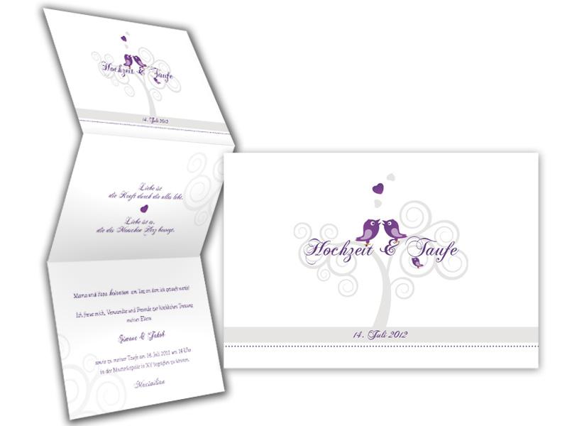 Einladungskarten Hochzeit Mit Taufe Biblesuite Co