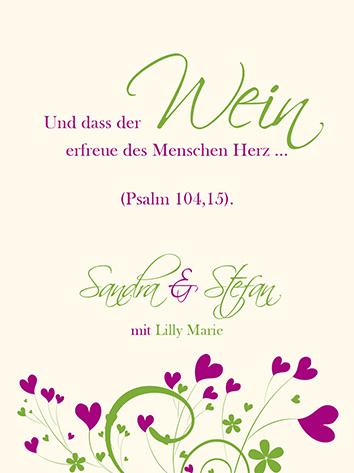 Altarfalz weinetiketten liebe die erbl ht - Weinetiketten selber machen ...