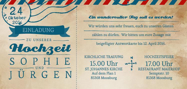 Ticket   Einladung. 1