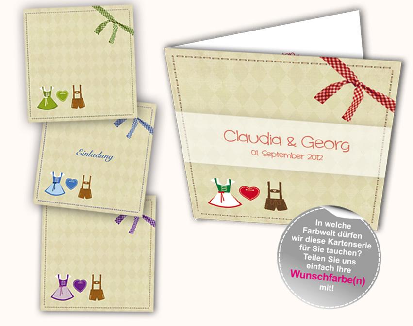 ... Karten Hochzeitskarten Einladungskarten Pictures to pin on Pinterest