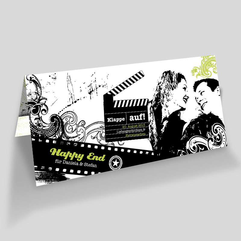 Anders einladen: Tickets zur Hochzeitspremiere