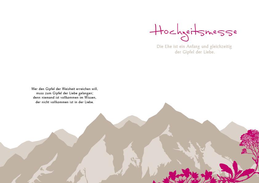 Hochzeitseinladung Liebe Versetzt Berge