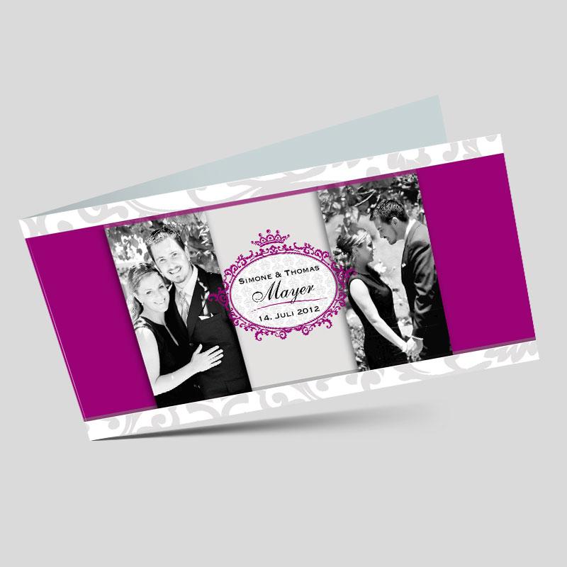 Foto Hochzeitskarten Mit Elegantem Hochzeitslogo