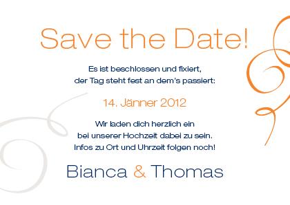 save the date karten wild sign of love, Einladungen