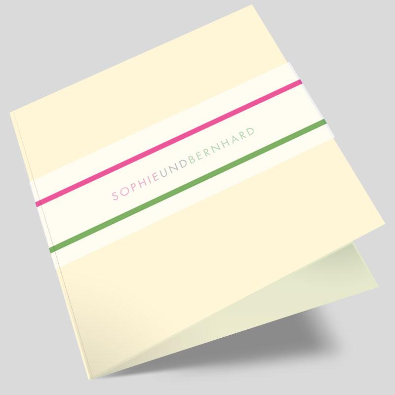 Hochzeitseinladung Wortgetreues Highlight