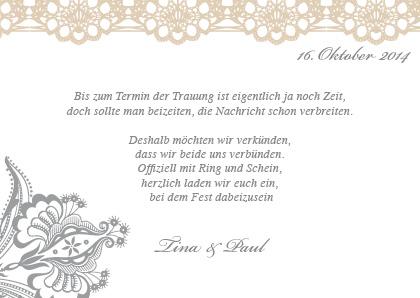 Moderne Sprüche Zur Hochzeit Karte.Vintage Save The Date Karten Spitzen Hochzeit