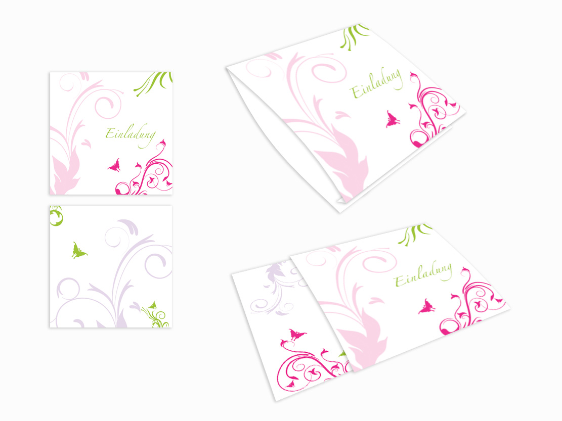 Einsteck kuverts leinenpapier altarfalzkarte elegante ornamente