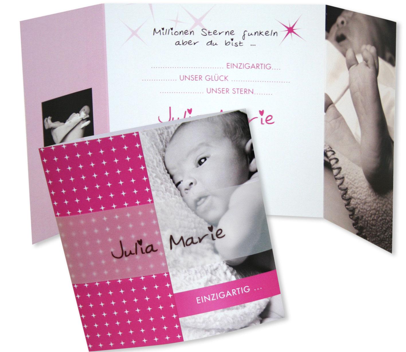 Geburtskarten für mädchen süße babykarten online bestellen
